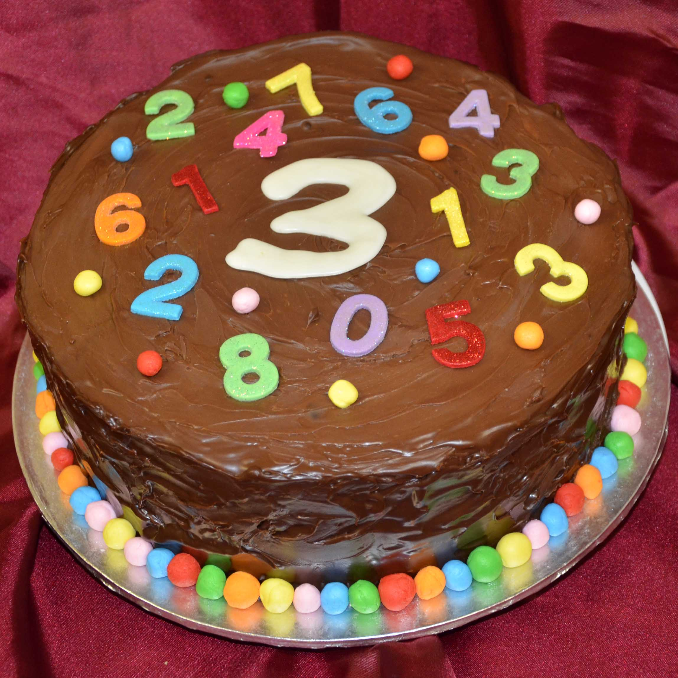 Birthday Cake Pictures Numbers : Special Cakes Delivery Johannesburg Vaal The Cake ...